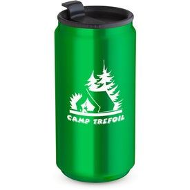Soda Can Travel Tumbler with Your Slogan