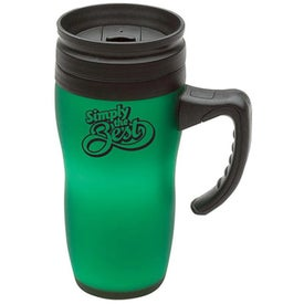 Soft Touch Insulated Mug with Your Logo