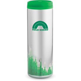 Monogrammed Soundwave Stainless Steel Tumbler