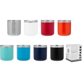 Spark Stainless Travel Mug - Powder (12 Oz.)