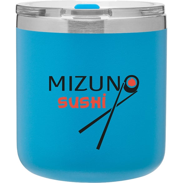 Matte Sky Blue Spark Stainless Travel Mug