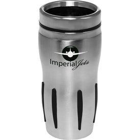 Sporty Stainless Steel Discount Tumbler (16 Oz.)
