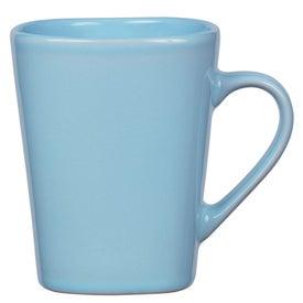Company Square Mug with Reactive Glaze