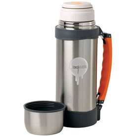 Stainless Steel Vacuum Thermos Bottle with Your Slogan
