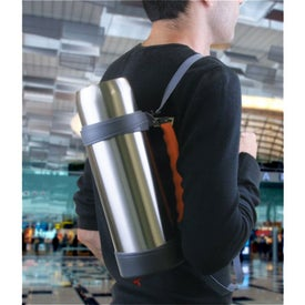 Printed Stainless Steel Vacuum Thermos Bottle