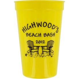 Imprinted Promotional Stadium Cup