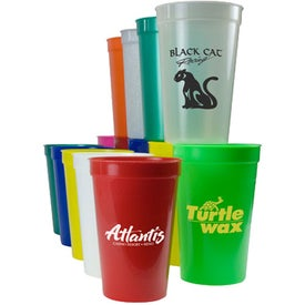 Polypropylene Stadium Cup (16 Oz.)