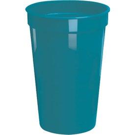 Monogrammed Plastic Stadium Cups