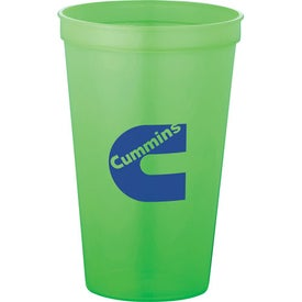 Personalized Biodegradable Stadium Cup