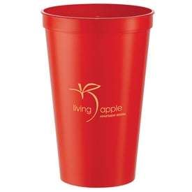 Biodegradable Stadium Cup Imprinted with Your Logo