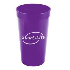 Monogrammed Stadium Cup