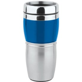 Branded Stainless/Acrylic Wave Tumbler