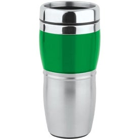 Promotional Stainless/Acrylic Wave Tumbler