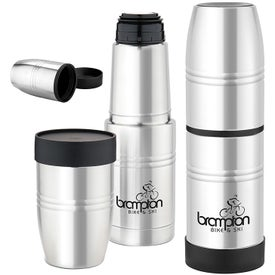 Stainless Steel Vacuum Bottle (18 Oz.)
