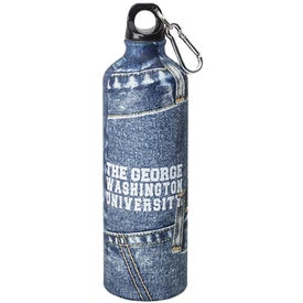 Branded Stainless Jean Water Bottle