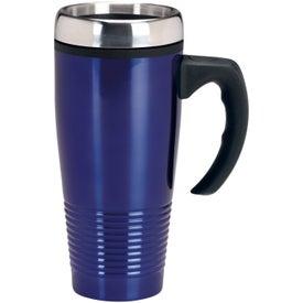 Custom Stainless Ridged Mug