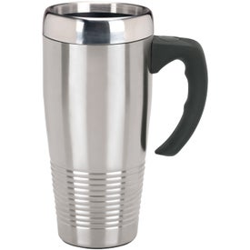 Stainless Ridged Mug for Advertising