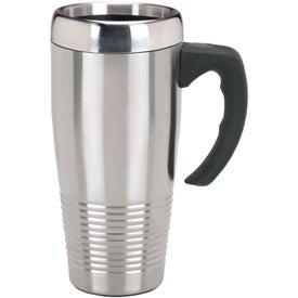 Stainless Ridged Mug for Advertising