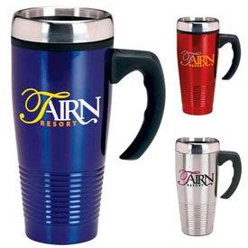 Stainless Ridged Mug for Your Organization