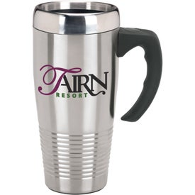 Promotional Stainless Ridged Mug