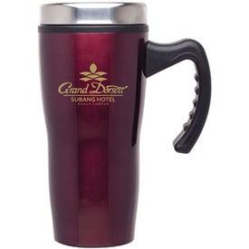 Monogrammed Stainless Stealth Mug