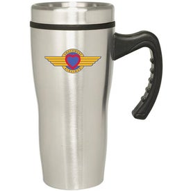 Stainless Stealth Mug (16 Oz.)