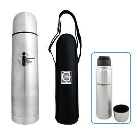 Advertising Stainless Steel Bullet Flask