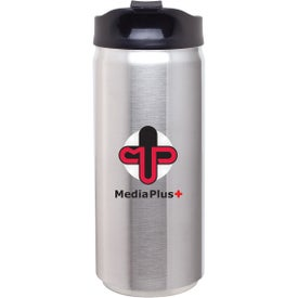Stainless Steel Can Thermal Tumbler Imprinted with Your Logo