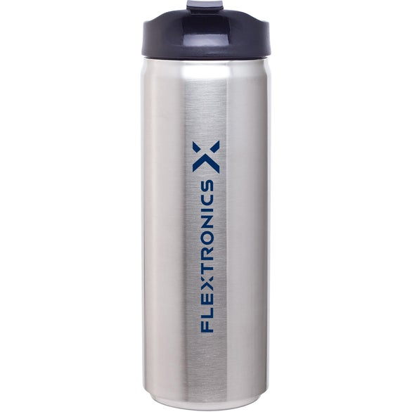 Stainless Steel Can Thermal Tumbler (16 Oz.)