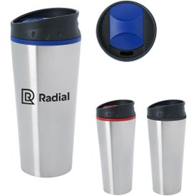 Stainless Steel Diamond Mug (15 Oz.)