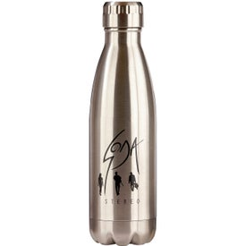 Stainless Steel Double Wall Vacuum Bottle (16 Oz.)