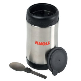 Monogrammed Stainless Steel Food Jar
