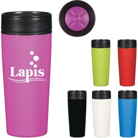 Stainless Steel Glossy Tumbler (14 Oz.)