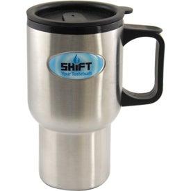 Stainless Steel Mug (16 Oz.)