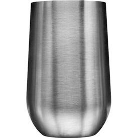 Stainless Steel Mug with Slide Lock Lid (14 Oz.)