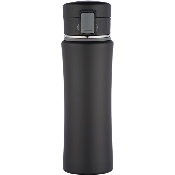 Black / Gray Stainless Steel Nimbus Bottle