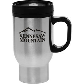 Stainless Steel Personalized Travel Mug (16 Oz.)
