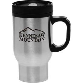 Stainless Steel Personalized Travel Mug (16 Oz.)