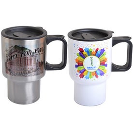 Stainless Steel Travel Mugs (14 Oz.)