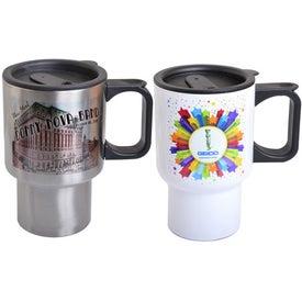 Stainless Steel Travel Mugs (14 Oz.)