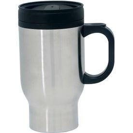 Imprinted Stainless Steel Traveler Mug