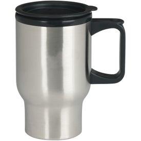 Monogrammed Stainless Steel Trip Mug