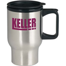 Stainless Steel Trip Mugs (17 Oz.)
