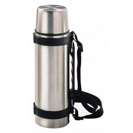 Branded Stainless Steel Travel Thermos