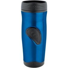 Stainless Thumbprint Tumbler (16 Oz.)