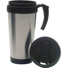Logo Stainless Steel Travel Mug