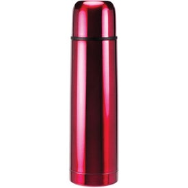 Advertising Stainless Steel Domed Beverage Container