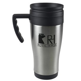 Stainless Steel Domed Budget Mug