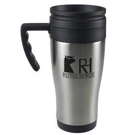 Stainless Steel Domed Budget Mug