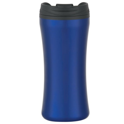 Metallic Blue Stainless Steel Double Wall Tumbler